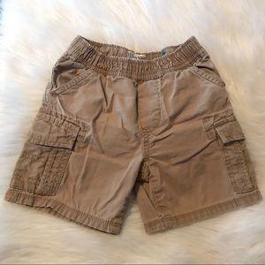 Boy Khaki Cargo Shorts | 18 - 24 Months
